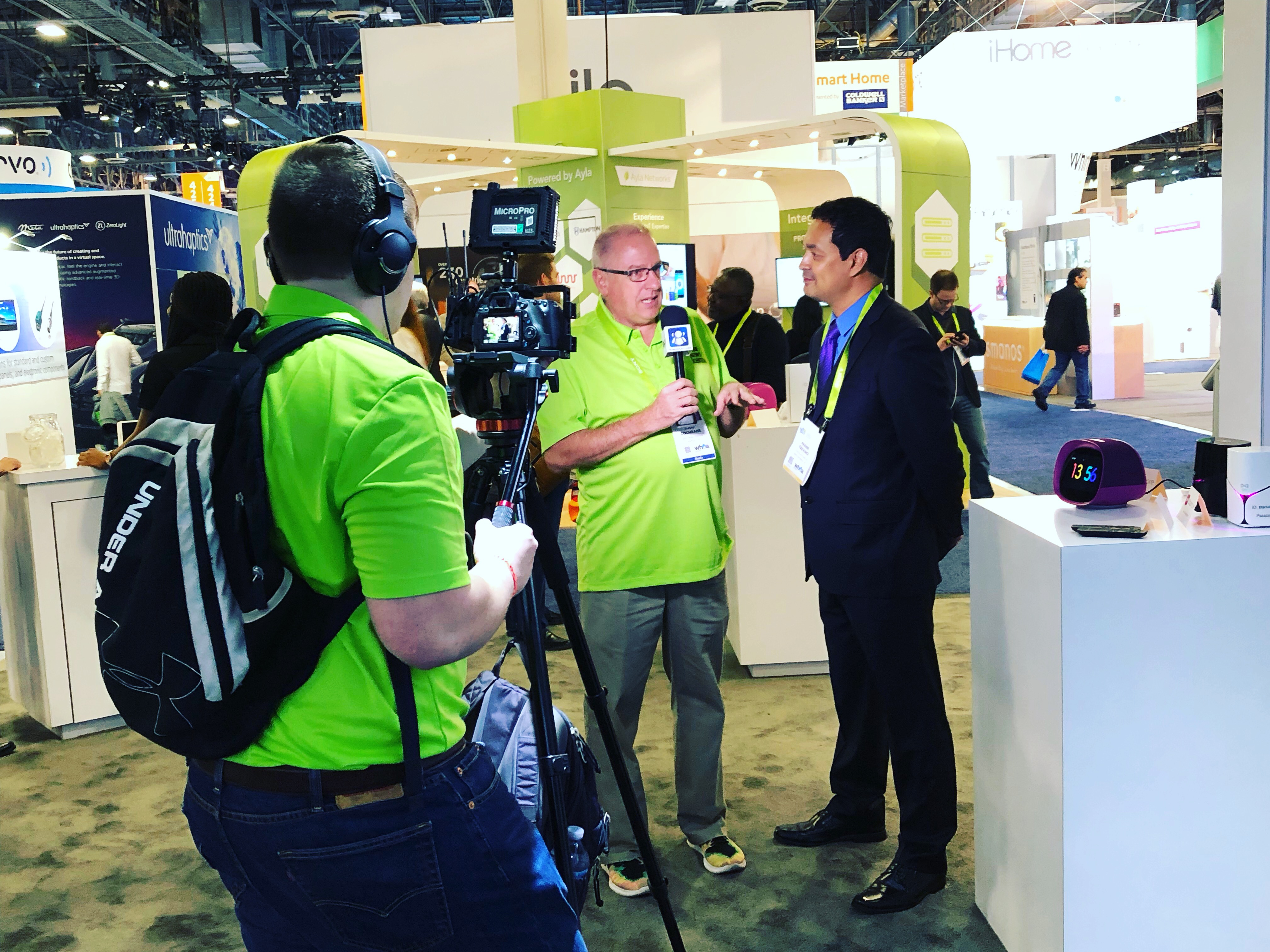 Frank Trevino at CES