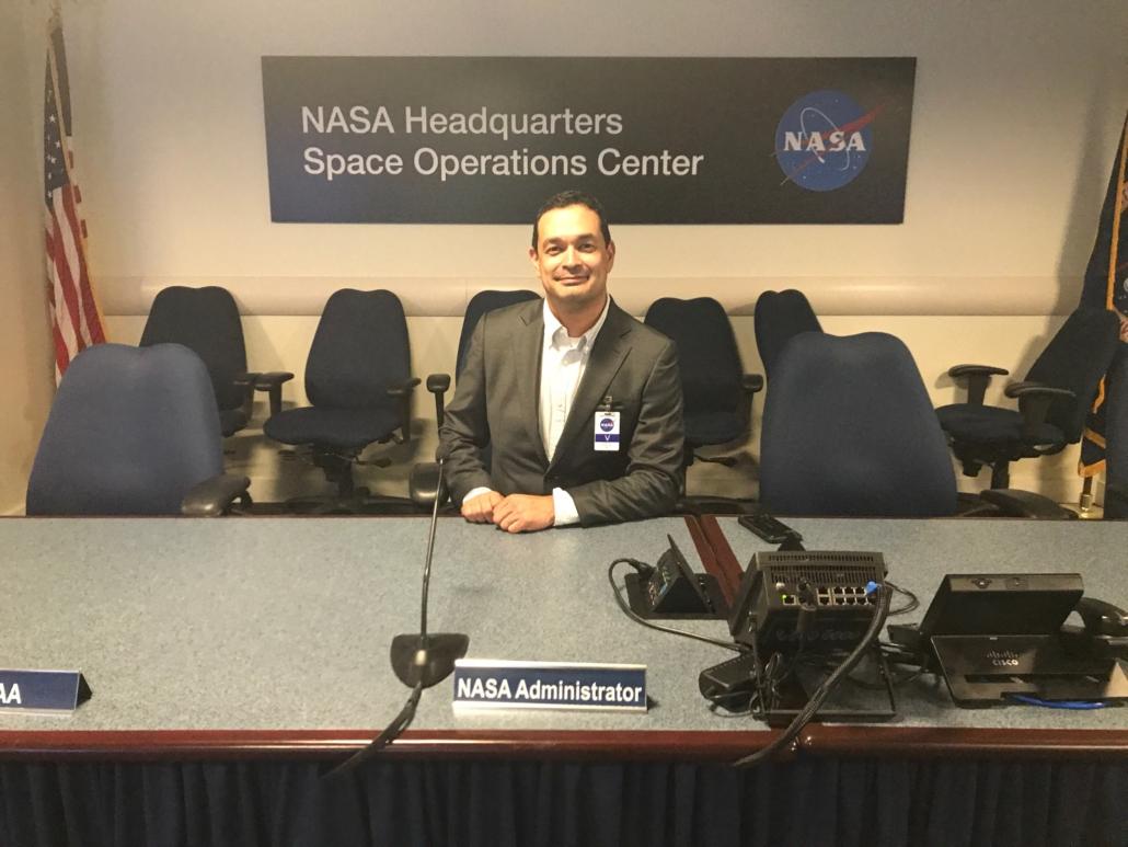 Frank Trevino at NASA HQ