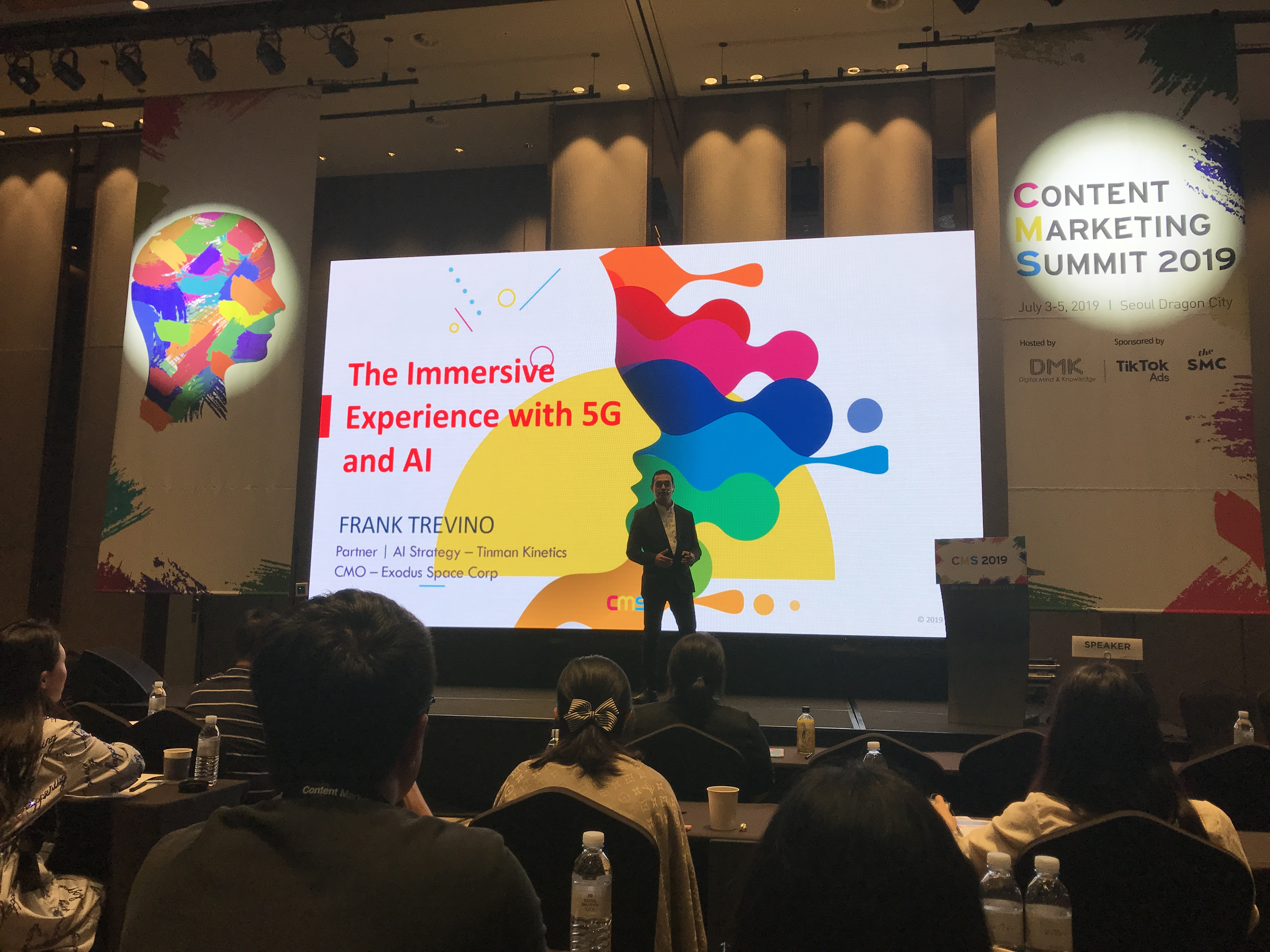 Frank Trevino at Content Marketing Summit 2019