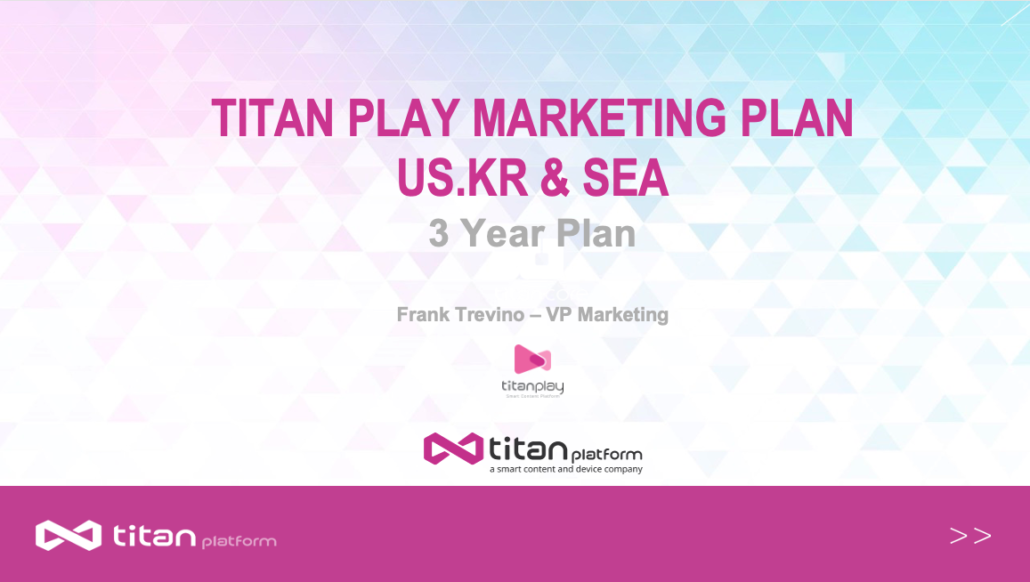 Titan Marketing Plan